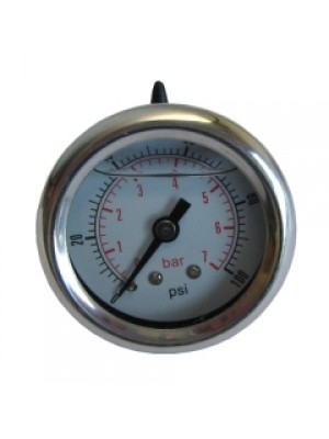 Fuel Pressure Gauge - 1-7 bar. For EFI systems