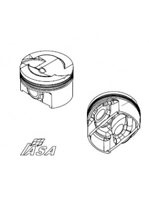 1.4 TU Peugeot Class 5 IASA Forged Piston Set