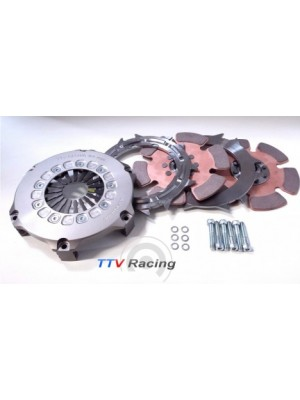 TTV Racing Compact Twin Plate Race Clutch 184mm (7.25″)