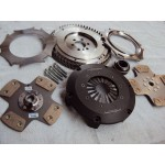 106/Saxo BE Twin Plate Clutch + Steel Flywheel Package