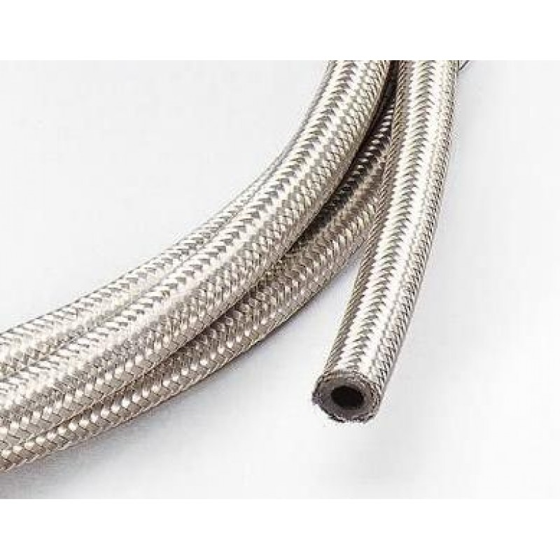 An stainless steel braided hose